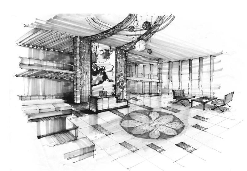 上海室内手绘培训,室内手绘考研暑期集训营