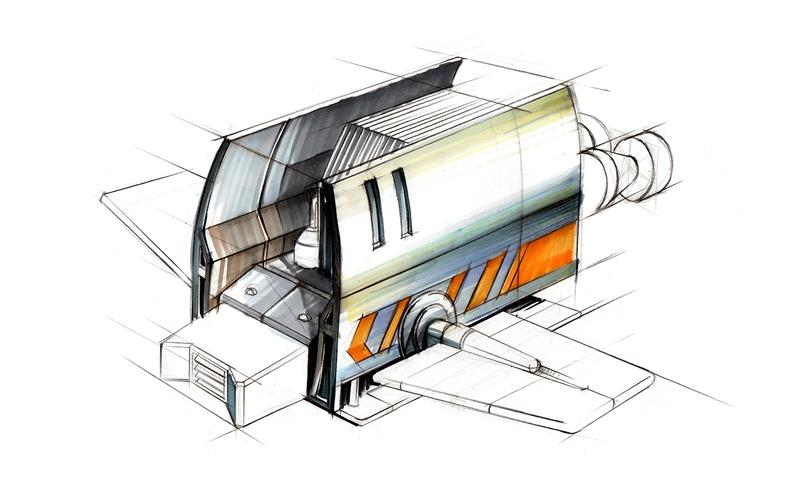 工业设计-产品手绘效果图图片