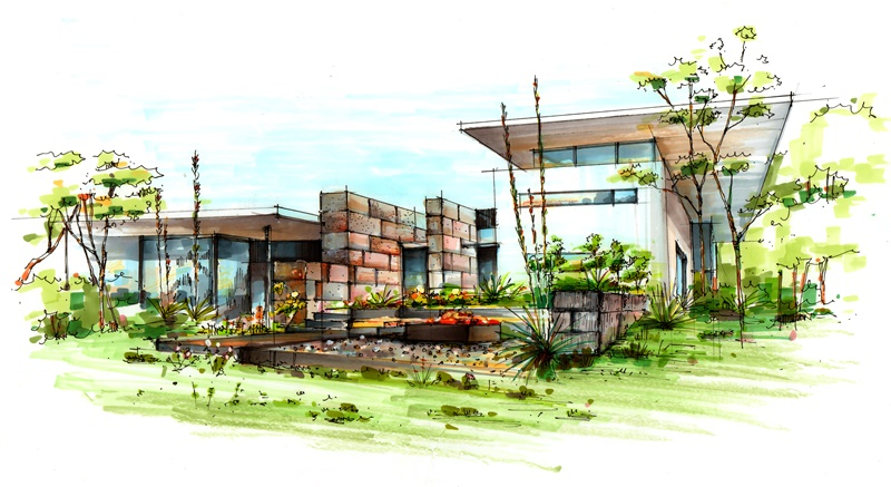 建筑设计手绘班