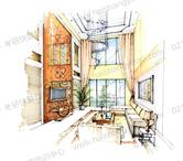 绘本——室内手绘案例2